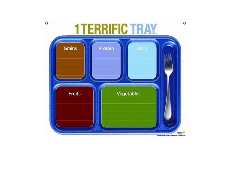 1 Terrific Tray Dry Erase Board _p_1256 on My Health Myplate Tray