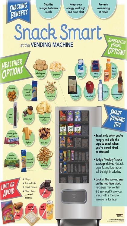 centramark smart snack vending machine