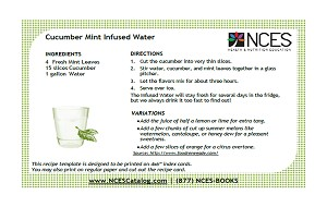 Cucumber Mint Infused Water Recipe