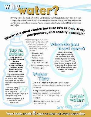 10 Ways To Drink Water Tear Pad