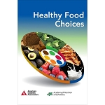 Healthy Food Choices: Foldout Meal Planning Tool