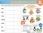 My Healthy Score Card Tear Pad