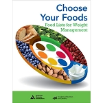 Choose your Foods: Food List for Weight Management