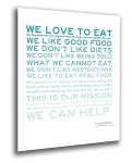 Foodspiration 8x10 Print