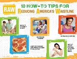 RAW 10 Tips to Reduce America's Waistline Tear Pad