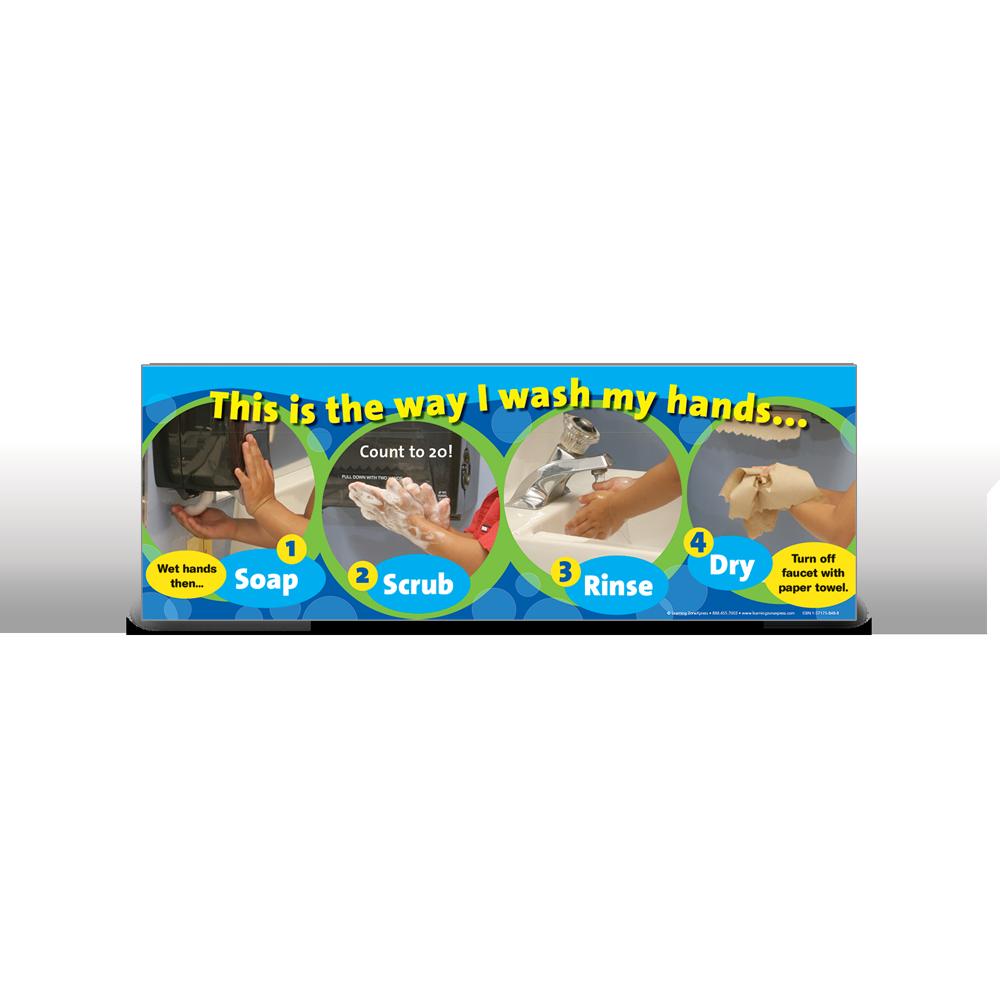 Handwashing Poster 123
