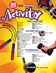 50 Ways to put Physical Activity into your Life Poster