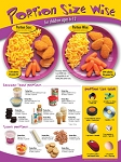 Kids Portion Size Wise Poster 6-12