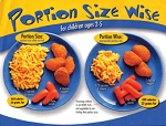 Portion Size Wise 2-5 Year Olds Tearpad