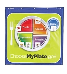 Healthy Helpings A MyPlate Pocket Banner