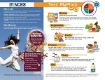 NCES Teen MyPlate - Pkg of 50