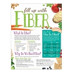 Fill Up With Fiber Handouts