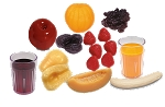 Fruit Food Models Kit