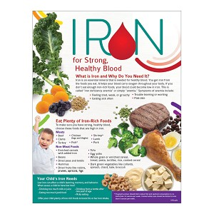 Iron for Strong Healthy Blood Handouts