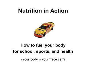 Sports Nutrition for Student Athletes Power Point