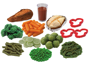 Vegetable Foods Model Kit
