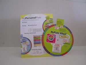My Personal Plate Wheel and Handouts
